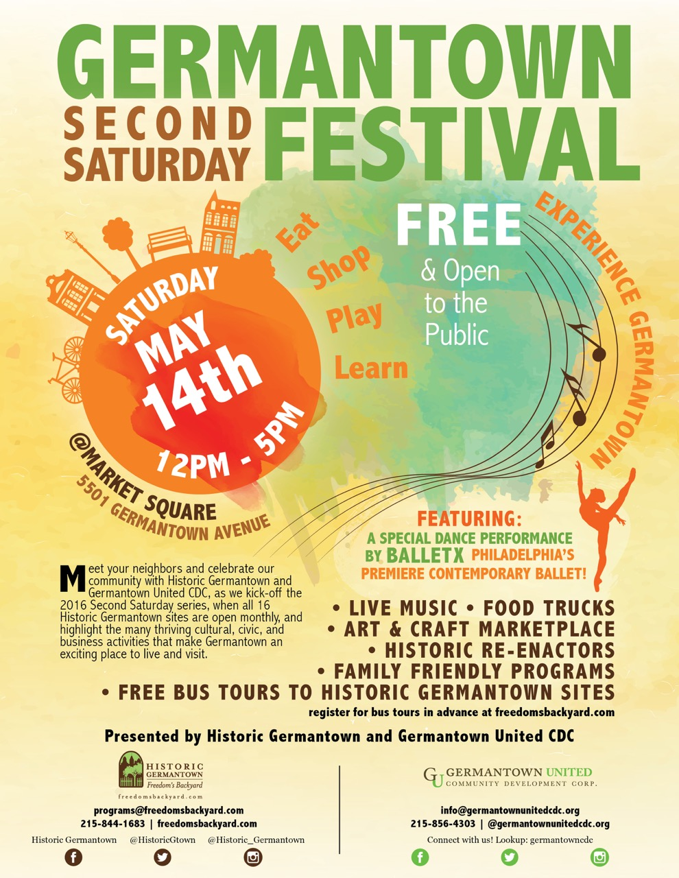 vending opportunities at the germantown second saturday festival